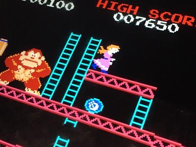 """Donkey Kong"", 1983 (particolare), foto di Microsiervos. CC BY 2.0 via Flickr"