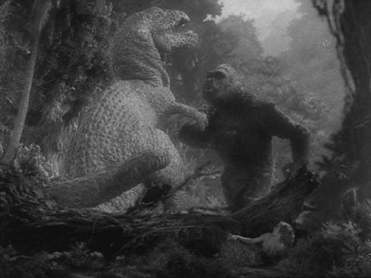 """Una scena del film """"King Kong"""" (1933) di Merian C. Cooper ed Ernest B. Schoedsack, foto di Breve Storia del Cinema. CC BY-NC 2.0 via Flickr"""