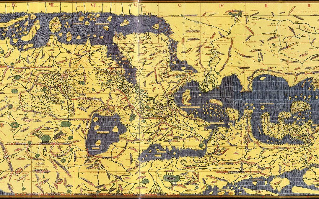 Giù al nord. Piccola storia del verso delle mappe